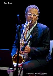 "Don Byron deed ook mee tijdens ""Lotz of music""."