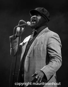 gregory porter live op Jazz Middelburg