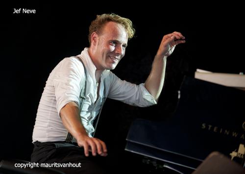 jef neve live op jazz middelheim 2012