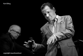 Kurt Elling live op Gent Jazz 2013