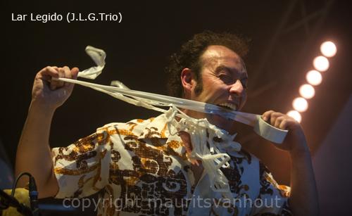 José Luis Gutiérrez trio live at Gouvy Jazz