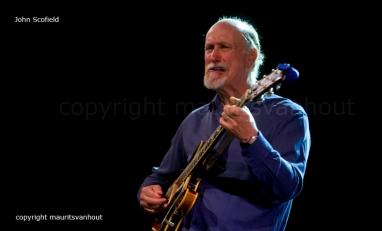 John Scofield trio live op Jazz Middelheim dd 16-8-2013
