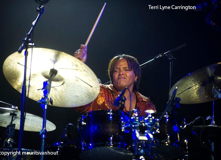 Lizz wright samen met Terri Lyne carringtons mosaic op Jazz Midd