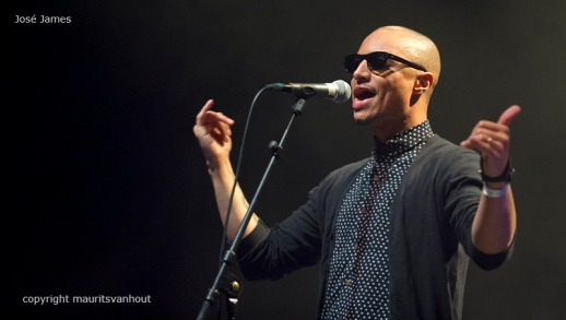 Jose James live op So What's Next 2013, copyright maurits van hout
