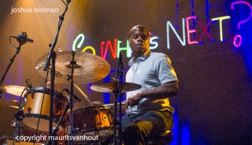 ]oshua Redman live op So What's Next 2013