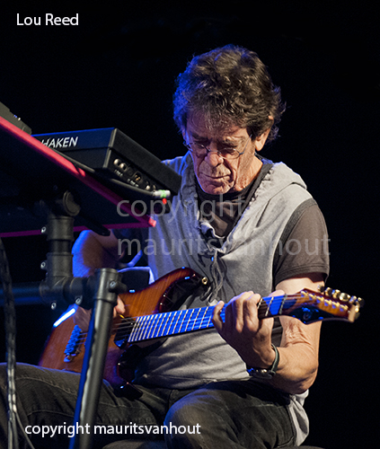 Lou Reed live at Jazz Middelheim 2009. copyright mauritsvanhout