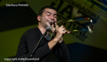 Gianluca Petrella and Giovanni Guidi live at Jazz belgrade