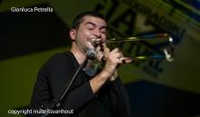 Gianluca Petrella and Giovanni Guidi live at Jazz belgrade