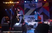 Yuri Honing quartet live at Jazz belgrade