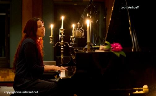 Jyoti Verhoeff speelde nog even live..