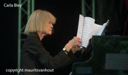 Carla Bley live at Jazz Middelburg. Copyright Maurits van Hout