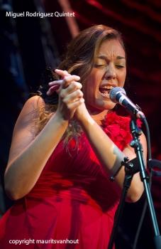 Miquel Rodriguez Quintet tijdens Cutting Edge festival Den Haag