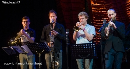 optreden van Windkracht7 tijdens Cutting Edge festival Den Haag