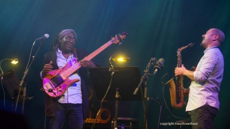 Katché,Bona,Legnini,Di Battista live op Gent jazz 2014