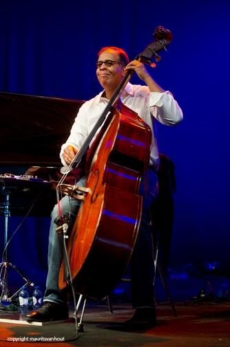 Stanley Clarke live op Gent Jazz 2014