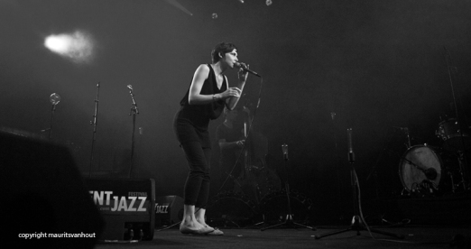 Melanie de Biasio live at Gent Jazz 2014