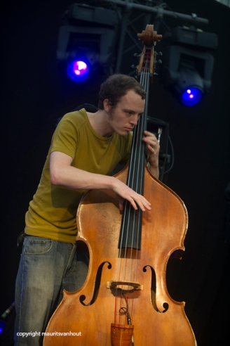 De Beren Gieren live at Gent Jazz 2014