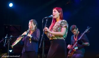 Graaf feat Tineke Postma live op Gent Jazz 2014