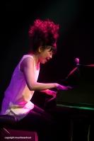 Hiromi live op Gent Jazz 2014
