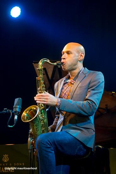 Joshua Redman live op Gent Jazz 2014