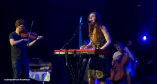 Julia Holter live op Gent Jazz 2014