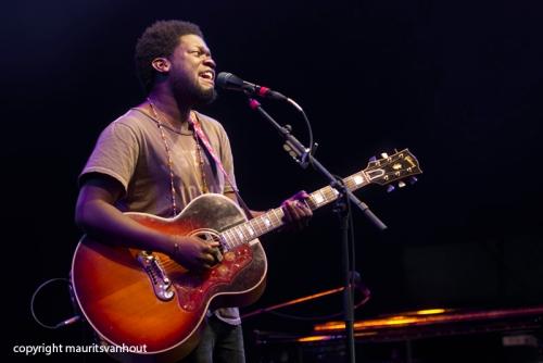 Michael Kiwanuka live op Gent Jazz 2014