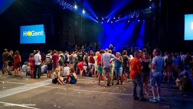 in afwachting van het laatste concert van 2014 op Gent Jazz...