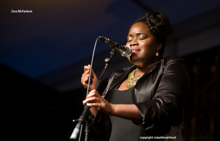 Zara McFarlane live at Gent Jazz 2014