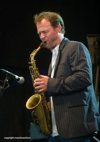 Bruno Vansina Orchestra live at Jazz Middelheim 2014