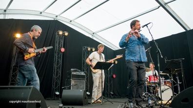 Gorka Benitez live op Jazz Middelheim 2014