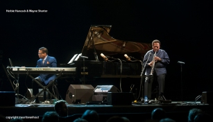 Herbie Hancock and Wayne Shorter live at Jazz Middelheim 2014