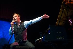 Jef Neve live op Jazz Middelheim 2014