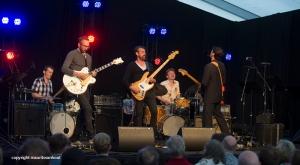 Manngold de Cobre live op Jazz Middelheim 2014
