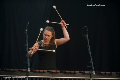 Thomas Enhco live at Jazz Middelheim 2014