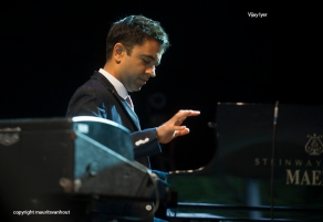 Vijayiyer Sextet live at Jazz Middelheim 2014