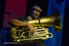 25.10.2014 belgrado Jazzfest Belgrade, Puschnig, Sass, Diabate Photo: John Sass