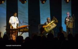 25.10.2014 belgrado Jazzfest Belgrade, Puschnig, Sass, Diabate