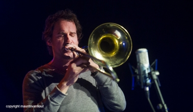 25.10.2014 belgrado Jazzfest Belgrade, Nils Wogram trio Photo: Nils Wogram