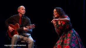 Izaline Callister & Ed Verhoeff live in Theater Dakota Den Haag (Projazz)