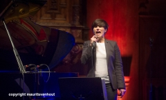 optreden van christina branco en joao estevez in de Nieuwe Kerk in Den Haag
