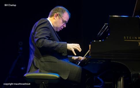 Bill Charlap Trio tijdens Gent Jazz 2015