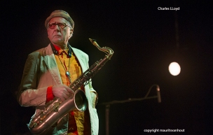 Charles Lloyd tijdens Gent Jazz 2015