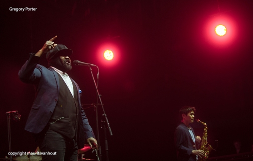 Gregory Porter live at gent jazz 2015