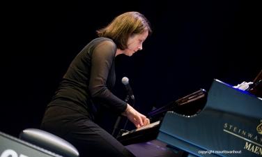 Kris Davis tijdens Gent Jazz 2015