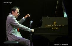 Michel Bisceglia tijdens Gent Jazz 2015