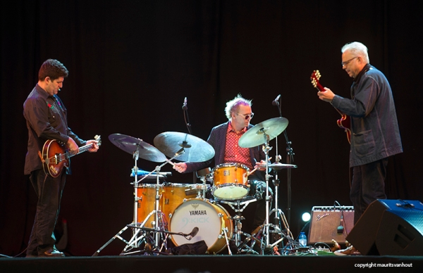 Bill Frisell trio live at Jazz Middelheim 2015