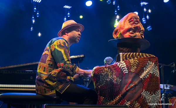 Jason Moran Fats Waller dance Party live at Jazz Middelheim 2015