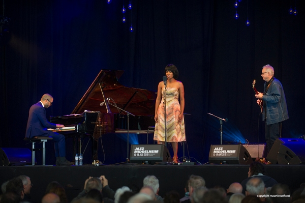 Jason Moran, Alicia Hall & Bill Frisell live at Jazz Middelheim 2015