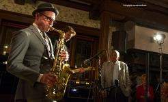 Laren Jazz 2015. Benjamin Herman tijdens Laren Jazz 2015