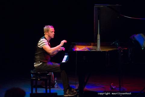 Rotterdam, 11 september 2015. Tingvall Trio treedt op in Lantaren Venster Rotterdam. Foto: Martin Tingvall